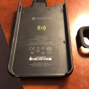 iPhone XS Max Mophie Charing Case